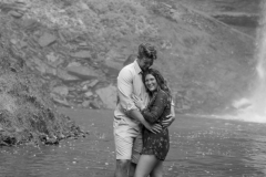 Hiking couple engagement session, decew falls , morningstar mill