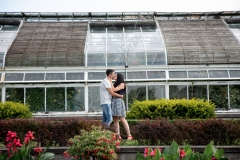 Garden portraits, Floral Showhouse, Niagara Falls, Couple Photography