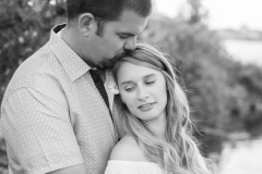 Black and white, barrie wedding photography, engagement