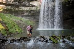 Morningstar Mill, Decew Falls , hiking engagement photos, waterfall engagement session, adventure photographer