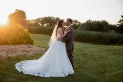 Sunset wedding photography niagara falls