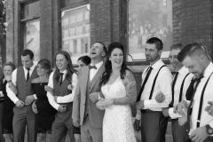 laughter wedding photos