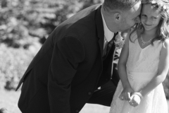 Daddy and daugther, wedding photos , document moments