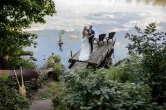 Lake wedding photography, water, muskoka wedding photography, canoe wedding photos, hike , adventure photography