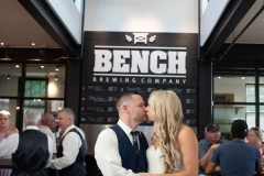 Bench Brewing company , Bench brewery weddings, bench brewery wedding photography