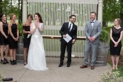 fun ceremony , club roma weddings