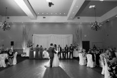Reception dance floor, first dance, reception photography, John Micheals banquet Hall.