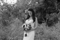 Bride, beach niagara wedding