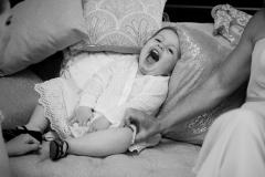 baby, wedding, laughing , beamer falls manor wedding