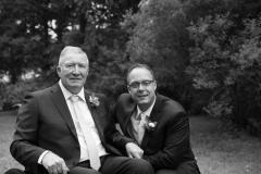 beamer falls manor wedding , family portraits