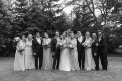 beamer falls manor wedding  , wedding party